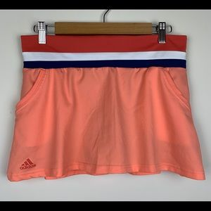Adidas Climalite Coral Tennis Skort